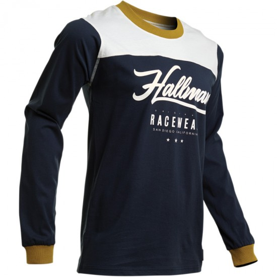 ТЕКСТИЛНА БЛУЗА THOR HALLMAN GP MIDNIGHT JERSEY