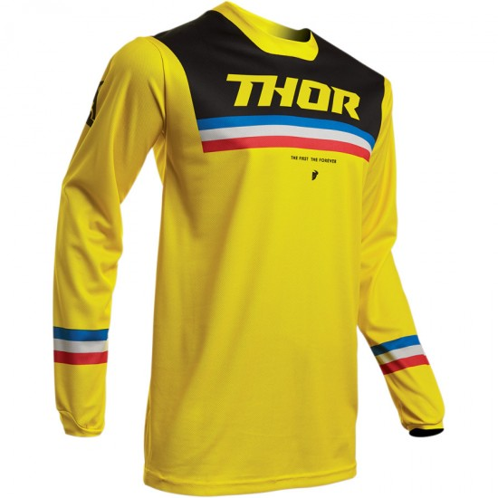 ТЕКСТИЛНА БЛУЗА THOR PULSE PINNER YELLOW JERSEY