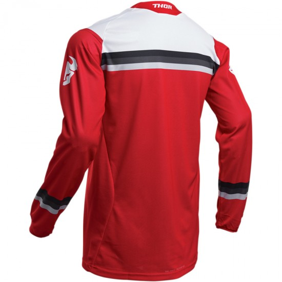 ТЕКСТИЛНА БЛУЗА THOR PULSE PINNER RED JERSEY