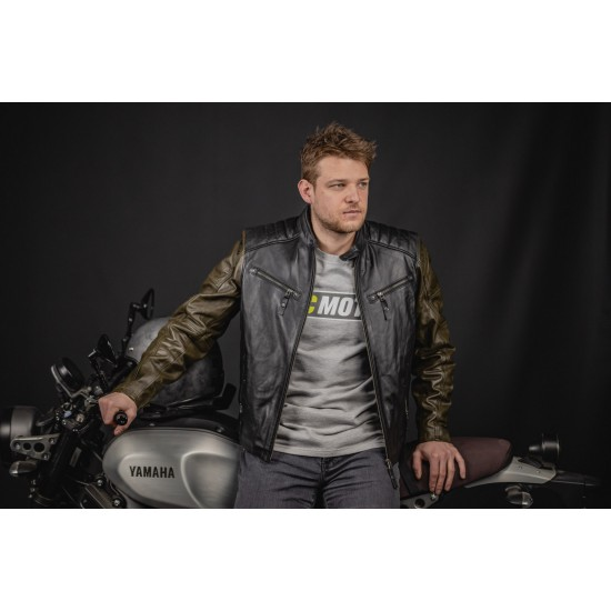 Яке Black-Cafe London Firenze Motorcycle Leather Jacket