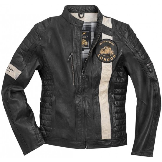 Яке Black-Cafe London Paris Motorcycle Leather Jacket