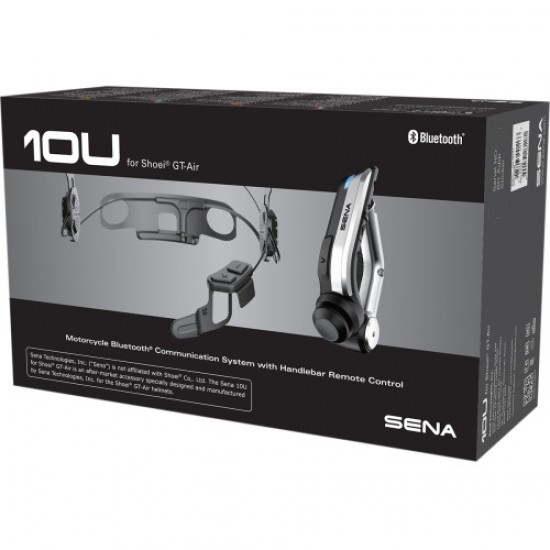 BLUETOOTH SENA 10U SHOEI GT AIR