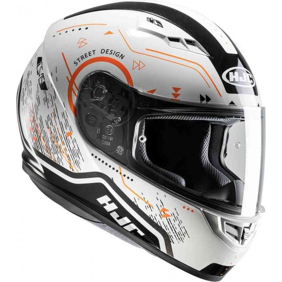 Каска HJC CS-15 Safa White/Orange