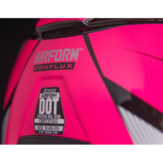 КАСКА ICON AIRFORM CONFLUX PINK