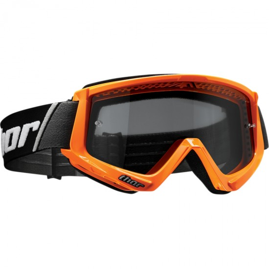 МОТОКРОС ОЧИЛА THOR COMBAT SAND BLAST FLO ORANGE/BLACK