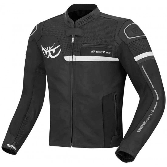 Яке Berik Sportivo Motorcycle Leather Jacket