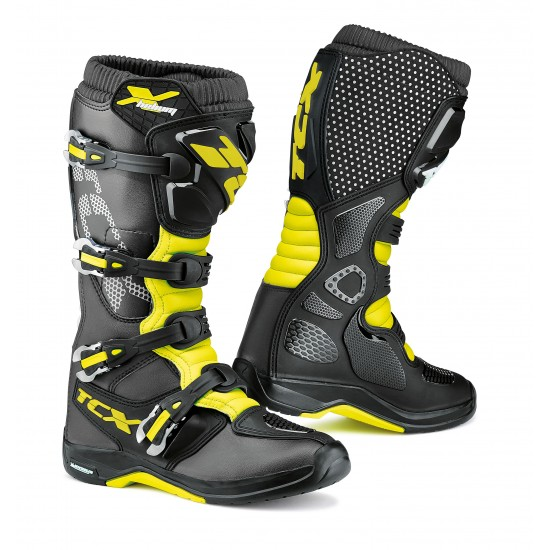 БОТУШИ X-HELIUM MICHELIN BLACK/YELLOW