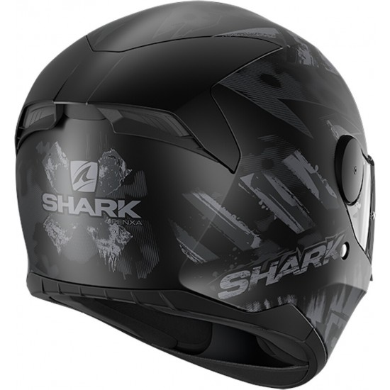 Каска SHARK D-SKWAL 2 PENXA MATT BLACK/GREY