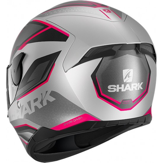 Каска SHARK D-SKWAL 2 DAVEN GREY/PINK MATT