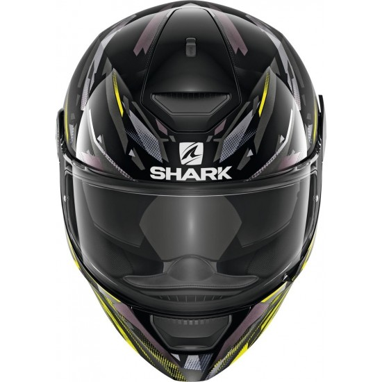 Каска Shark D-Skwal KANHJI BLACK/GRAY/YELLOW
