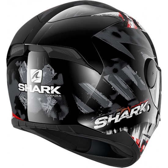 Каска SHARK D-SKWAL 2 PENXA BLACK/GREY/RED