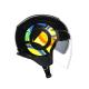 Каска за скутер AGV ORBYT SUN & MOON 46 BLACK