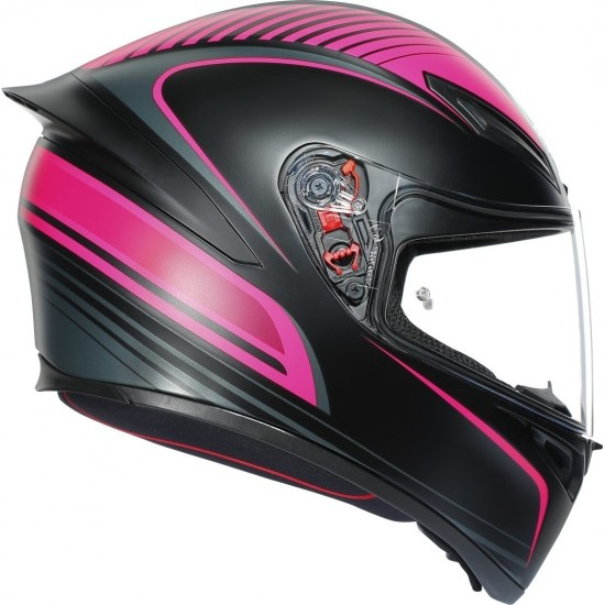 Каска AGV K1 WARMUP BLACK/PINK