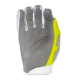 Мотокрос ръкавици ONEAL MAYHEM CRACKLE 91 YELLOW/WHITE/BLUE