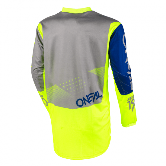 Детска Джърси блуза ONEAL ELEMENT FACTOR GRAY/BLUE/NEON YELLOW