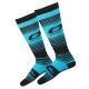 Термо чорапи ONEAL Pro MX STRIPES TEAL/BLACK