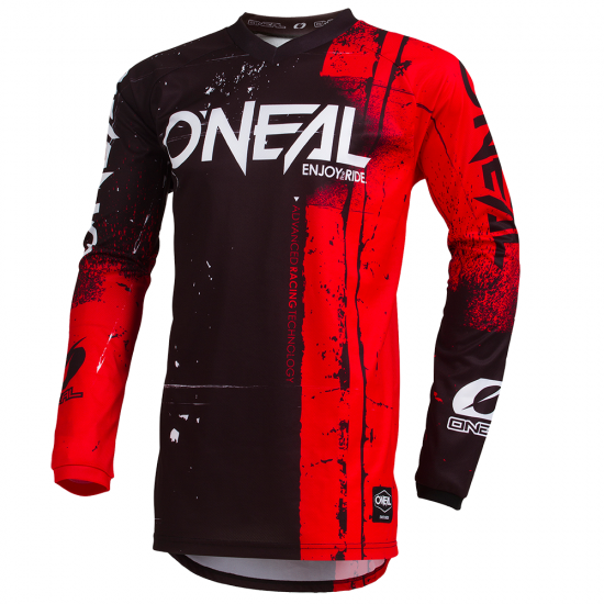 Джърси блуза ONEAL ELEMENT SHRED RED