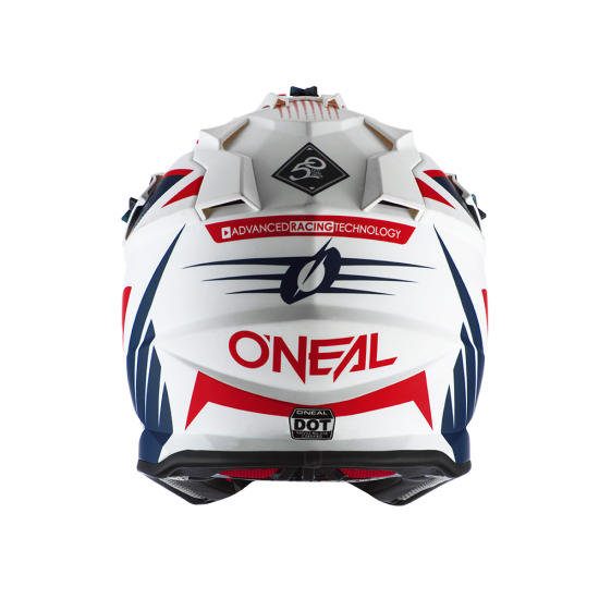 Каска ONEAL 2SERIES SPYDE 2.0 WHITE/BLUE/RED 2020