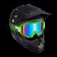 Мотокрос очила ONEAL B1 FLAT GREEN RADIUM