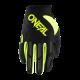 Детски мотокрос ръкавици ONEAL ELEMENT NEON YELLOW 2020