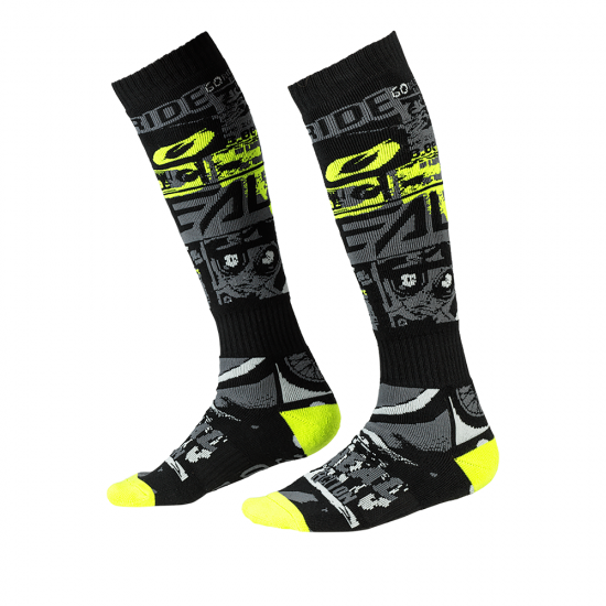 Термо чорапи ONEAL PRO MX RIDE BLACK/NEON YELLOW