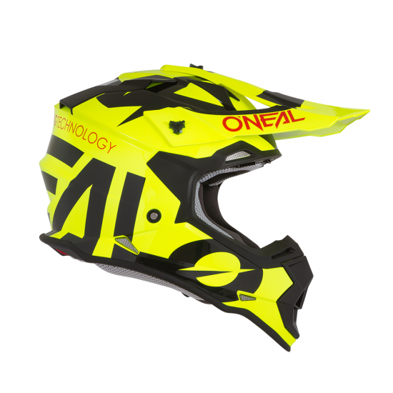 Детска Каска ONEAL 2SERIES RL SLICK NEON YELLOW/BLACK