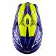 Мотокрос каска ONEAL 3SERIES FUEL BLUE/HI VIZ