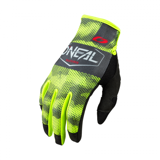 Мотокрос ръкавици ONEAL COVERT CHARCOAL/NEON YELLOW