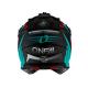 Каска ONEAL 2SERIES SPYDE 2.0 BLACK/TEAL/RED 2020