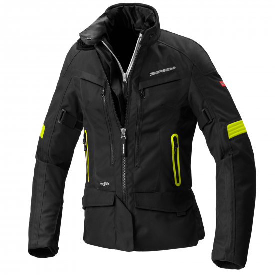 Дамско яке SPIDI VOYAGER 4 H2Out YELLOW FLUO